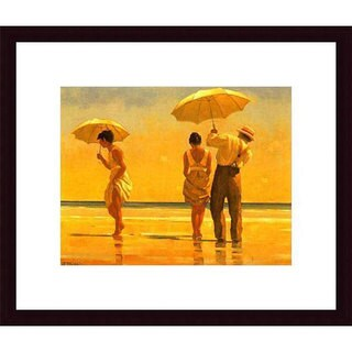 Jack Vettriano 'Mad Dogs' Wood Framed Art Print