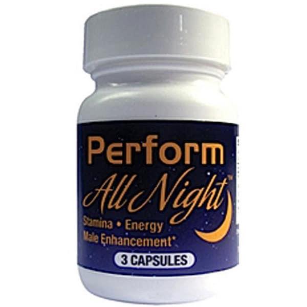 'Perform All Night' Male Enhancement Pills