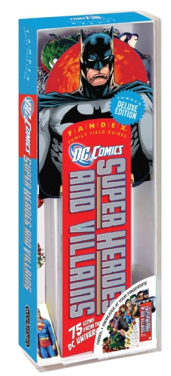 DC Comics Super Heroes and Villains: 75 Icons from the DC Universe!, Fandex Deluxe Edition (Cards)