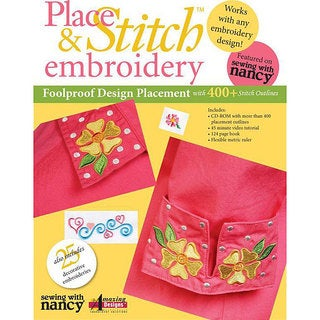 Place & Stitch Embroidery Kit