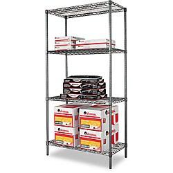 Alera NSF-Certified Industrial Wire Shelving Kit