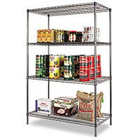 Alera Industrial Wire Shelving Kit