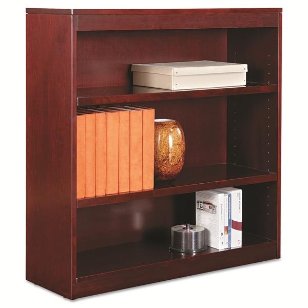 Alera Square Corner 3-shelf Bookcase