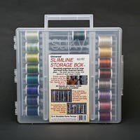 Sulky's Top 17 Egyptian Cotton Blendables Thread with Storage Box