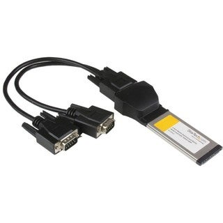 StarTech.com 2 Port Native ExpressCard RS232 Serial Adapter Card with