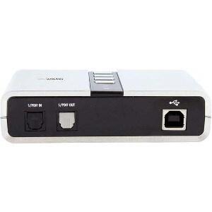 StarTech.com 7.1 USB Audio Adapter External Sound Card