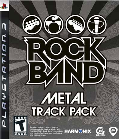 PS3 - Rock Band Track Pack: Metal
