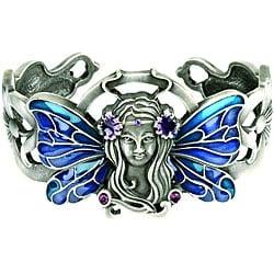 Pewter Art Nouveau Fairy Bracelet