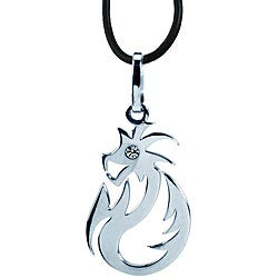 Stainless Steel Dragon Spirit Necklace