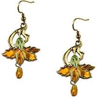 Pewter Vintage Marigold Earrings