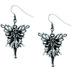 Pewter Fairy Earrings