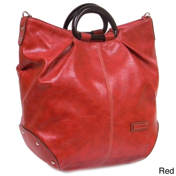 Rina Rich Carnegie Synthetic Leather Tote Bag