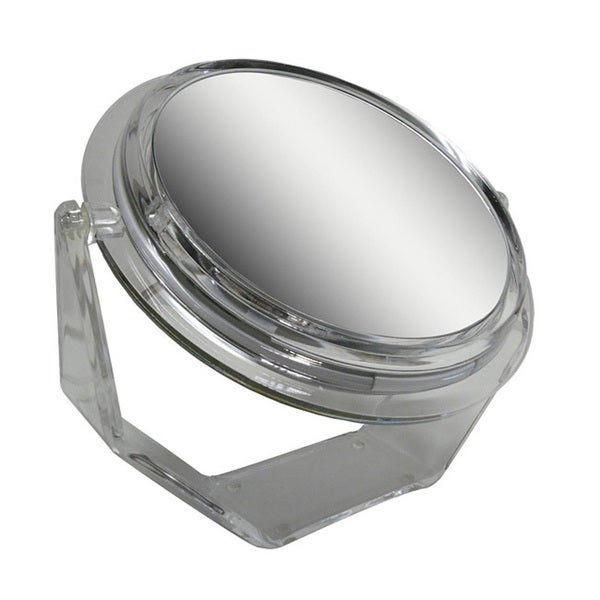 Shop Zadro Ss37 7x Lighted Decorative Swivel Mirror Free
