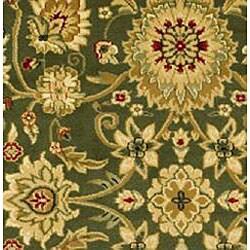 Safavieh Lyndhurst Traditional Oriental Sage/ Ivory Runner (2'3 x 8') - Thumbnail 2