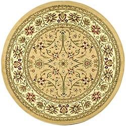 Safavieh Lyndhurst Traditional Oriental Beige/ Ivory Rug (8' Round)
