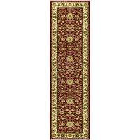 "Safavieh Lyndhurst Traditional Oriental Red/ Ivory Runner Rug - 2'3"" x 12'"