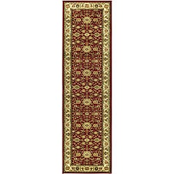 Safavieh Lyndhurst Traditional Oriental Red/ Ivory Runner (2'3 x 16')
