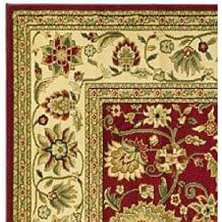 Safavieh Lyndhurst Traditional Oriental Red/ Ivory Runner (2'3 x 8') - Thumbnail 1