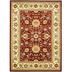 Safavieh Lyndhurst Traditional Oriental Red/ Ivory Rug (6' x 9')