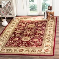 Safavieh Lyndhurst Traditional Oriental Red/ Ivory Rug - 6' x 9'