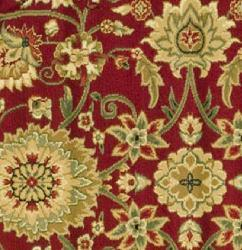 Safavieh Lyndhurst Traditional Oriental Red/ Ivory Rug (5'3 Round) - Thumbnail 1