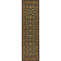 Safavieh Lyndhurst Traditional Oriental Black/ Red Runner (2'3 x 12')