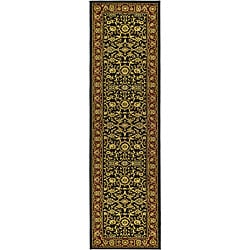 Safavieh Lyndhurst Traditional Oriental Black/ Red Runner (2'3 x 14')