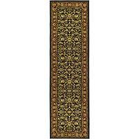 Safavieh Lyndhurst Traditional Oriental Black/ Red Runner Rug - 2'3 x 14'