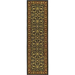 Safavieh Lyndhurst Traditional Oriental Black/ Red Runner (2'3 x 16')