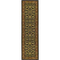 Safavieh Lyndhurst Traditional Oriental Black/ Red Runner (2'3 x 8')