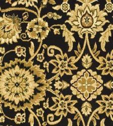 Safavieh Lyndhurst Traditional Oriental Black/ Red Rug (5'3 Round) - Thumbnail 2