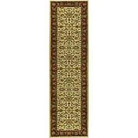 Safavieh Lyndhurst Traditional Oriental Ivory/ Red Runner Rug - 2'3 x 8'
