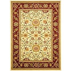 Safavieh Lyndhurst Traditional Oriental Ivory/ Red Rug (6' x 9')