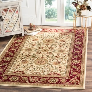 Safavieh Lyndhurst Traditional Oriental Ivory/ Red Rug (8' x 11')