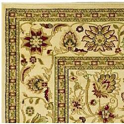 Safavieh Lyndhurst Traditional Oriental Ivory/ Ivory Runner (2'3 x 14') - Thumbnail 1