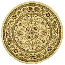 Safavieh Lyndhurst Traditional Oriental Ivory/ Ivory Rug (8' Round)