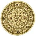 Safavieh Lyndhurst Traditional Oriental Ivory/ Ivory Rug - 8' x 8' Round