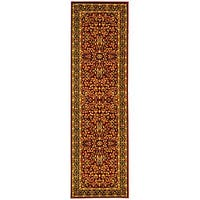 Safavieh Lyndhurst Traditional Oriental Red/ Black Runner Rug - 2'3 x 14'