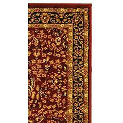 Safavieh Lyndhurst Traditional Oriental Red/ Black Runner (2'3 x 16') - Thumbnail 1