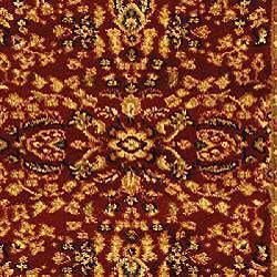 Safavieh Lyndhurst Traditional Oriental Red/ Black Runner (2'3 x 16') - Thumbnail 2