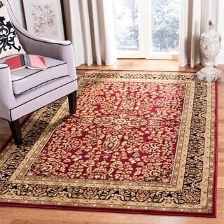 Safavieh Lyndhurst Traditional Oriental Red/ Black Rug (6' Square)