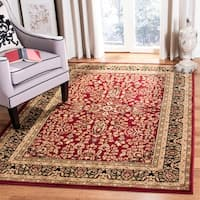 Safavieh Lyndhurst Traditional Oriental Red/ Black Rug (6' Square)