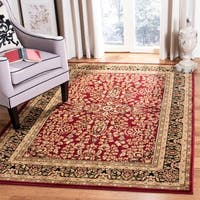 Safavieh Lyndhurst Traditional Oriental Red/ Black Rug - 6' x 9'