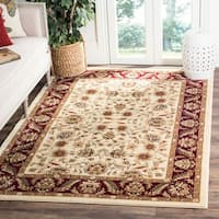 Safavieh Lyndhurst Traditional Tabriz Ivory/ Red Rug - 6' x 9'