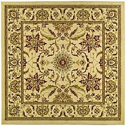 Safavieh Lyndhurst Traditional Oriental Ivory Rug (8' Square)