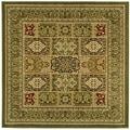 Safavieh Lyndhurst Traditional Oriental Green/ Multi Rug (8' Square)