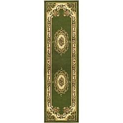 """Safavieh Lyndhurst Traditional Oriental Sage/ Ivory Runner (2'3"""" x 8')"""