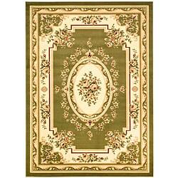 Safavieh Lyndhurst Collection Sage/Ivory Area Rug (8' x 11')