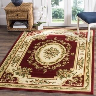 Safavieh Lyndhurst Traditional Oriental Red/ Ivory Rug (3'3 x 5'3)