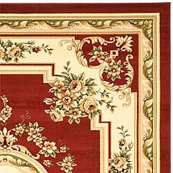 Safavieh Lyndhurst Traditional Oriental Red/ Ivory Rug (8' x 11')